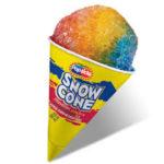 slanted snowcone