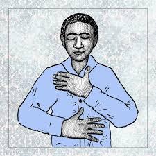touching self