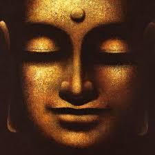 Calm Buddha smile